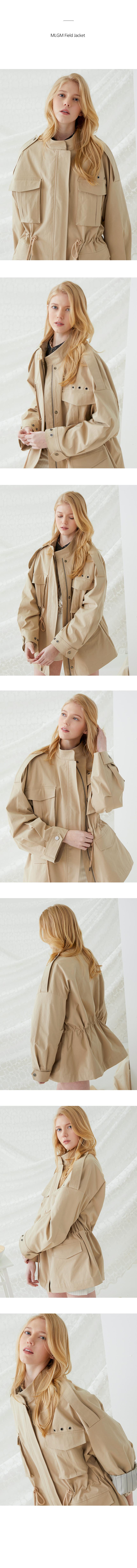 밀로그램(MILLOGREM) MLGM Field Jacket - Beige